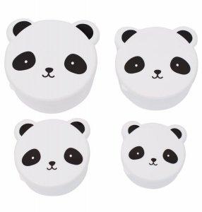 A Little Lovely Company, pudełeczka śniadaniowe, lunchboxy, z pandą
