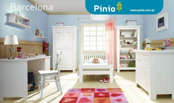 Pinio, szafa 2-drzwiowa, Barcelona, biała