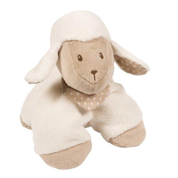 Nattou, kolekcja Cappuccino, przytulanka owieczka