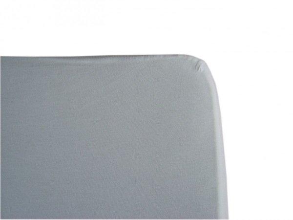 malooni, komplet 2szt., prześcieradło z gumką 120x60cm, jersey, białe