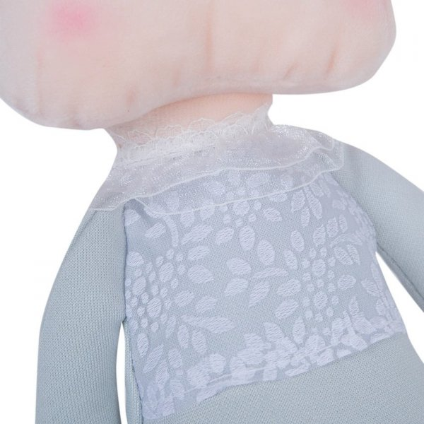 Metoo, lalka w szarej sukience, 30cm