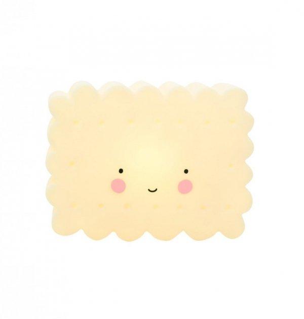 A little lovely company, lampka ledowa ciasteczko żółte