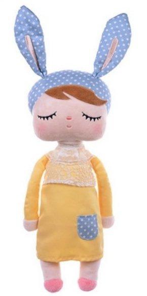 Metoo, lalka Angela, żółta, 30cm