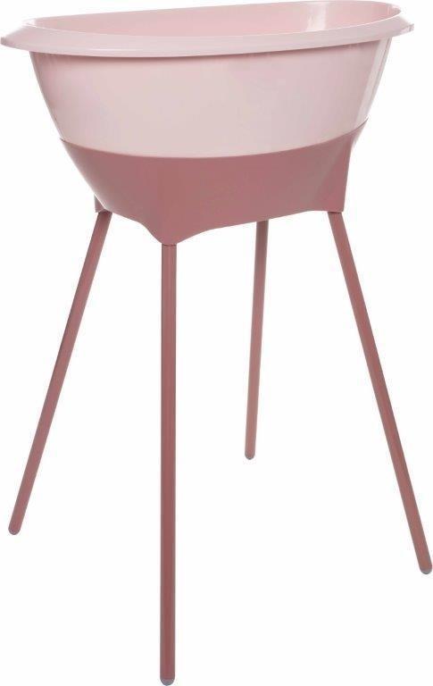 Luma, zestaw kąpielowy, 8 elem. pink blossom