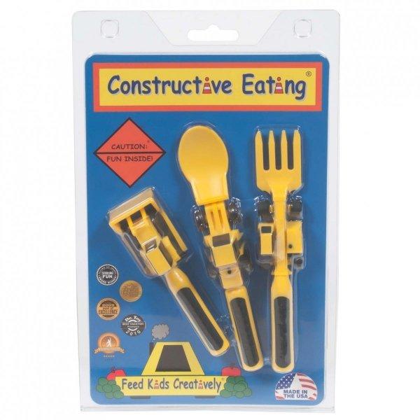 Constructive Eating, sztućce koparkowe