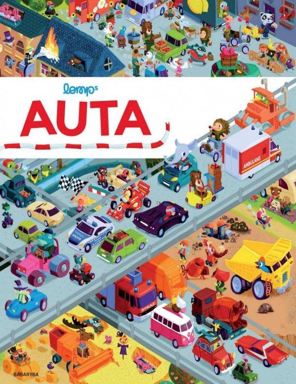 Książka obrazkowa dla dzieci Auta