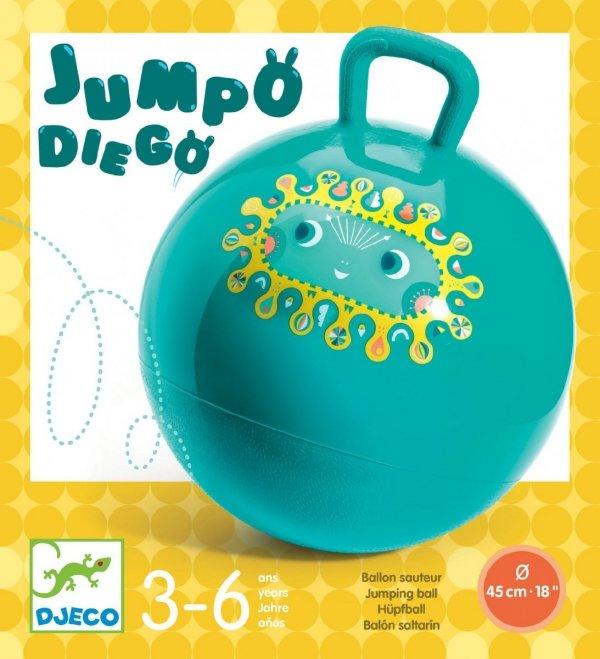 Djeco, piłka do skakania, Jumpo Diego,
