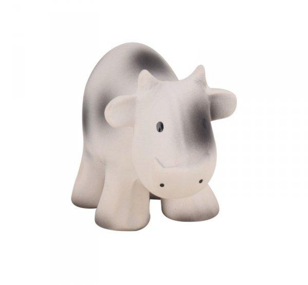 Tikiri, gryzak kauczukowy zabawka z grzechotką, krówka