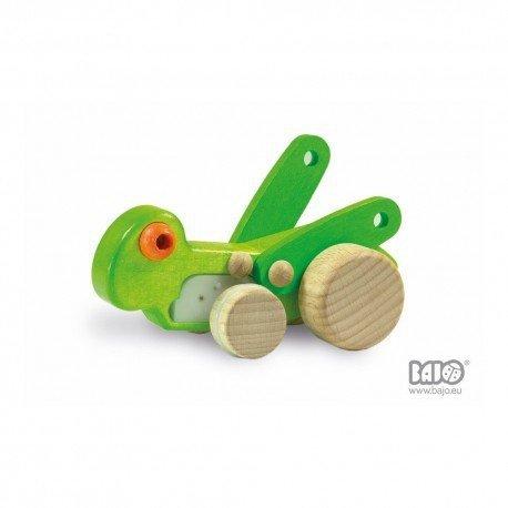 Bajo, drewniany świerszcz, cykada na kółkach