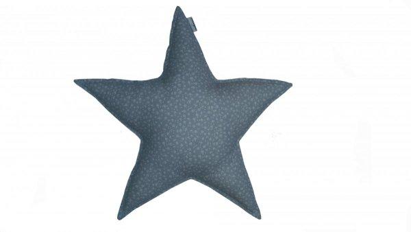 malooni poduszka gwiazdka mniejsza, szara łączka