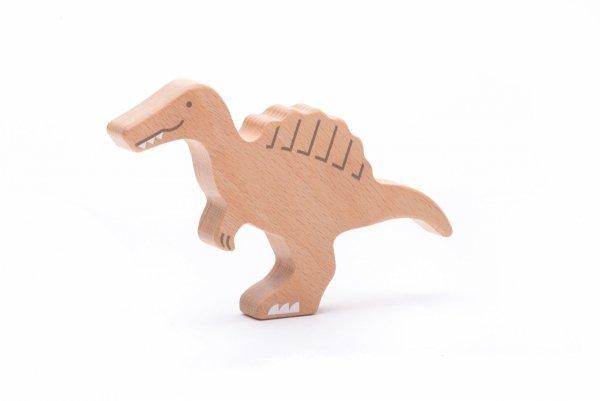 Bajo, bajosaurs, 10 drewnianych figurek