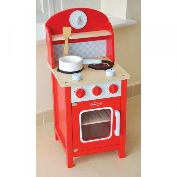Indigo Jamm, drewniana kuchnia, w wersji mini, czerwona