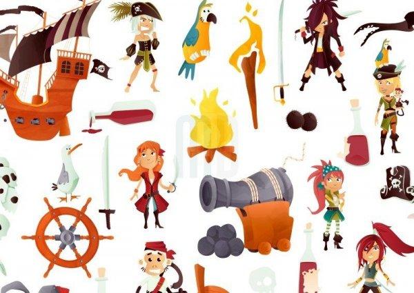 Macodesign, lampa wisząca, piraci