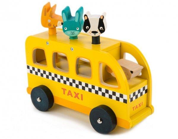 Tender Leaf Toys, taksówka ze zwierzątkami