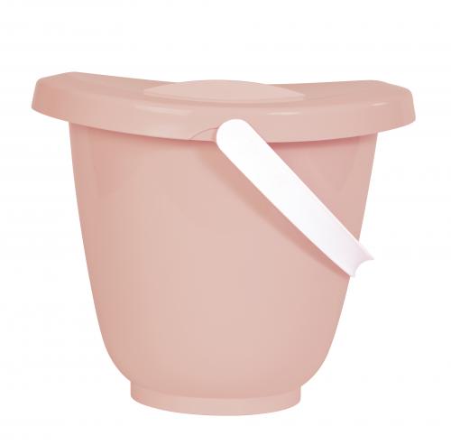 Luma, zestaw kąpielowy, 8 elem. różowy