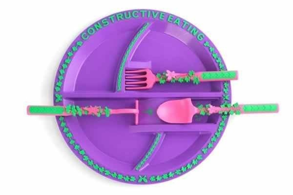 constructive eating, zestaw ogrodowy