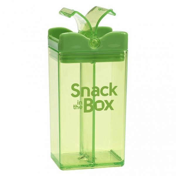 Snack in the box, zielony, 355ml,