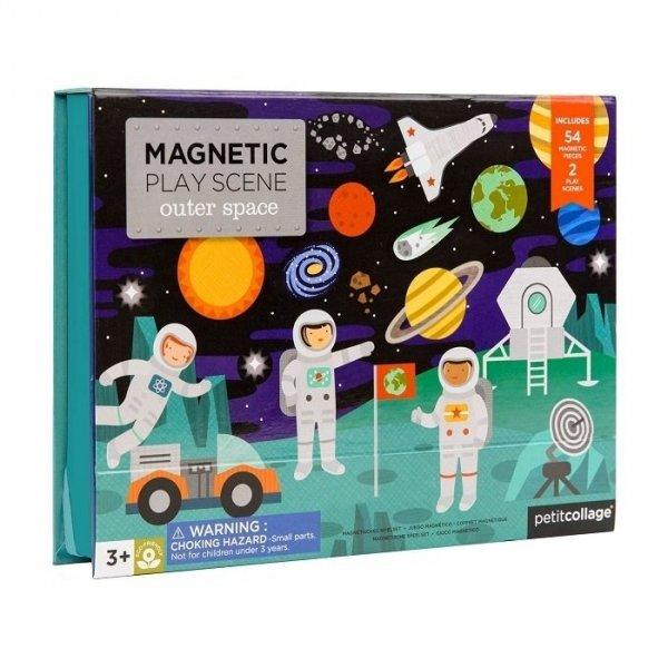 Petit COllage, magnetyczna układanka kosmos