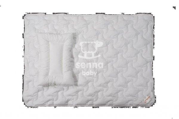 Senna baby, kołderka + poduszka, Ingeo