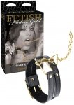 Ff Gold Collar and Leash