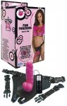 Powergirl Vibr. Strap-On Pink