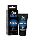 pjur MAN STEEL gel 50 ml - lubrykant na bazie silikonu