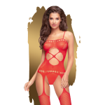Penthouse Hot nightfall bodystocking XL (czerwony)