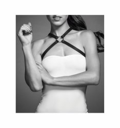 Bijoux Indiscrets - MAZE Chest Thin Harness Black