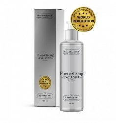 PheroStrong Exclusive for Men Massage Oil 100ml - olejek z feromonami dla mężczyzn