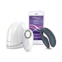 Wibrator dla par We-Vibe 4 Plus, ciemnoszary