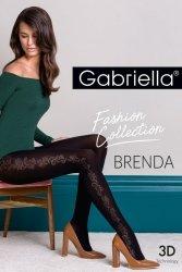 Gabriella Brenda code 439 rajstopy wzorzyste