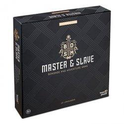 Tease&Please Master & Slave Edition Deluxe - gra erotyczna władca i sługa wersja Deluxe
