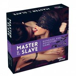 Tease&Please Master & Slave Bondage Game Beige - gra erotyczna władca i sługa (fioletowy)