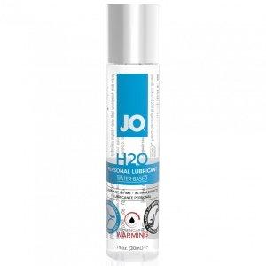 System JO H2O Lubricant Warming 30 ml - rozgrzewający lubrykant na bazie wody