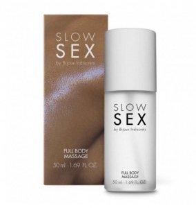 Bijoux Indiscrets Slow Sex Full Body Massage Gel - silikonowy żel do masażu