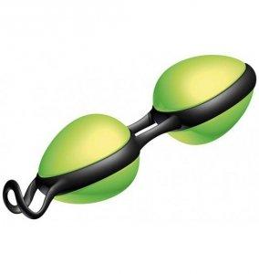 JoyDivision Joyballs Secret - Kulki gejszy (zieleń/czerń)