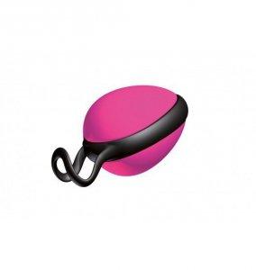 JoyDivision Joyballs Secret Single - Kulki gejszy (kulki pojedyncze, róż/czerń)