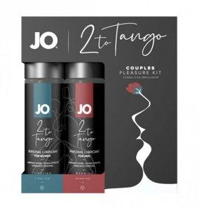 System JO 2-To-Tango Couples Kit - zestaw preparatów stymulujących dla par