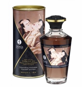 Shunga Aphrodisiac Oil Chocolate 100 ml - olejek do masażu (czekolada)