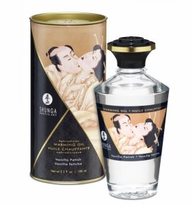 Shunga Aphrodisiac Oil Vanilla Fetish 100 ml - olejek do masażu (wanilia)