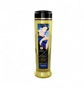 Shunga Erotic Massage Oil Seduction / Midnight Flower 240ml - olejek do masażu (o zapachu polnych kwiatów)