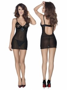 Roxana Mini dress and string S/black