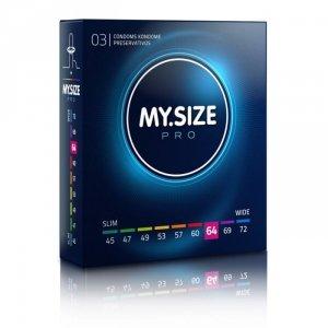 MY.SIZE Pro 64 mm - Prezerwatywy (1op./3szt.)