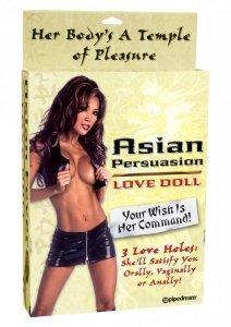 Pipedream - lalka dmuchana  Asian Fever Love Doll