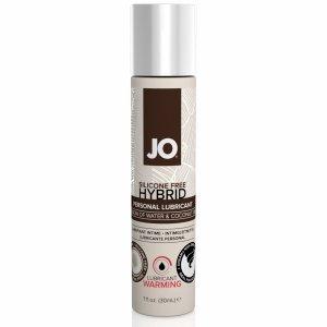 System JO Silicone Free Hybrid Lubricant Coconut Warming 30 ml - rozgrzewający lubrykant hybrydowy