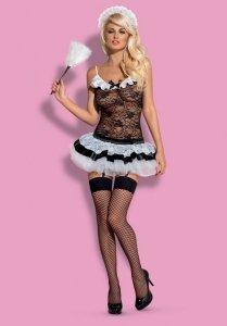 Obsessive Housemaid kostium 5-częściowy L/XL