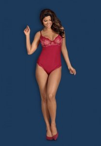 Rosalyne body czerwone L/XL