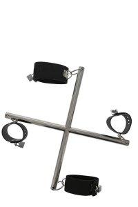 Dream Toys Blaze Hog Tie Cross Bar - Zestaw Do Krępowania