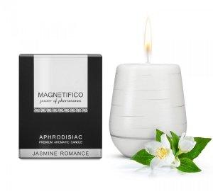 MAGNETIFICO Aphrodisiac Candle Jasmine Romance - aromatyczna świeca z feromonami (jaśmin)