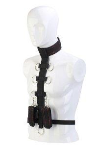 Dream Toys Blaze Deluxe Collar Body Restraint - Uprząż Do Ciała